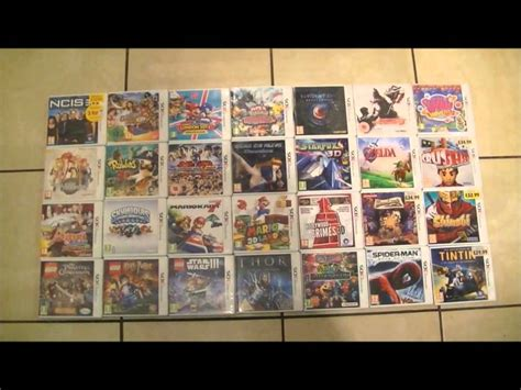 My Nintendo 3DS Games Collection Right Now Mario + Pokemon