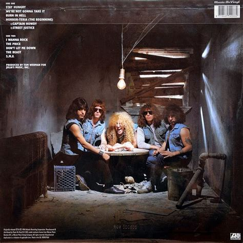 Twisted Sister - Stay Hungry, Colored Vinyl