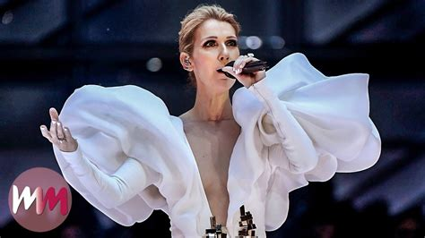 Top 10 Iconic Celine Dion Fashion Moments - YouTube