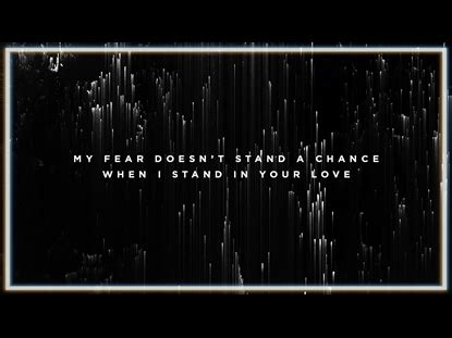 Stand In Your Love Video Worship Song Track with Lyrics