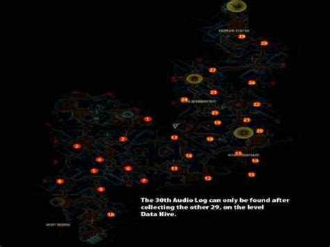 Halo 3 ODST All 30 Audiophiles MAP - YouTube