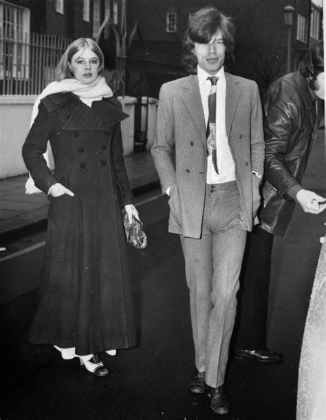 Mick Jagger and Marianne Faithful's Relationship in 37