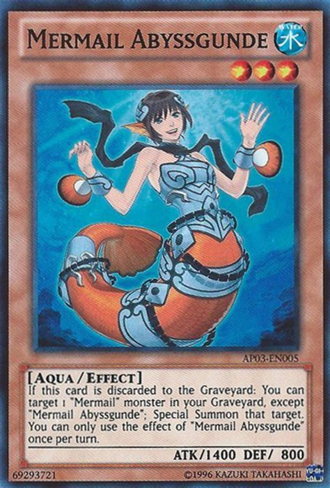 Mermail Abyssgunde - Yu-Gi-Oh! - It's time to Duel! - Wikia