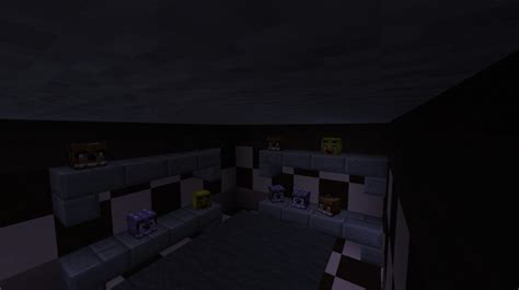 Fed X Gaming's FNaF 1 Map In MC Minecraft Project