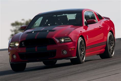 Race Red 2013 Ford Mustang Shelby GT-500 Coupe