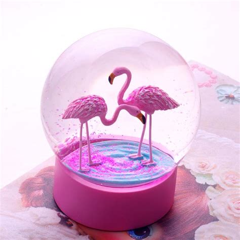 Flamingo Snow Globe by Talking Tables - Buy Online Now